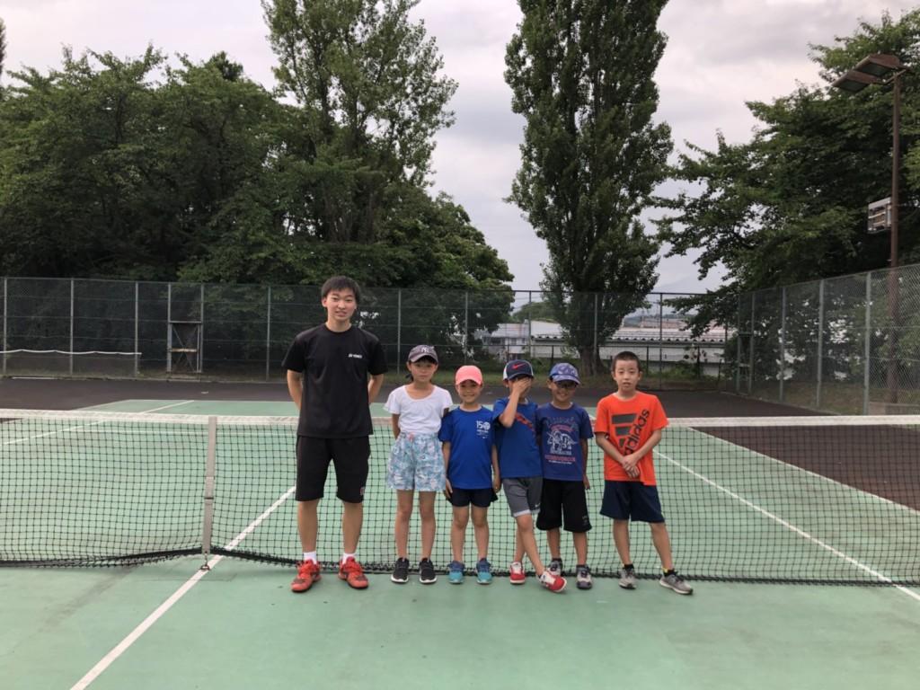 会津夏休みテニススクール